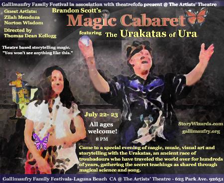 Brandon Scott the Magic Cabaret www.nohoartsdistrict.com