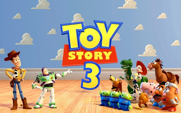 toy story 3 logo toys Toy Story 3 Review (3D)
