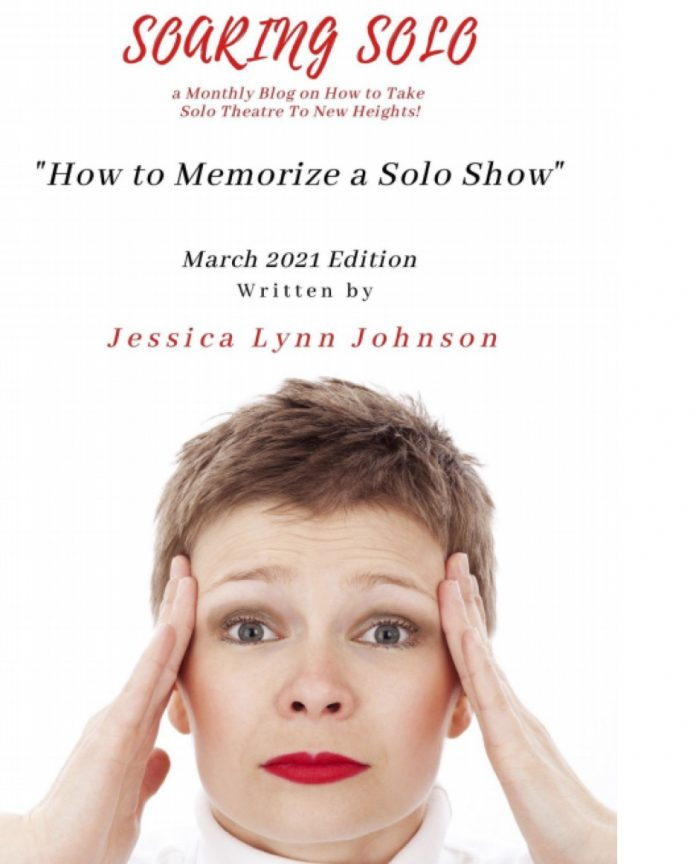 Soaring Solo how to memorize a solo show