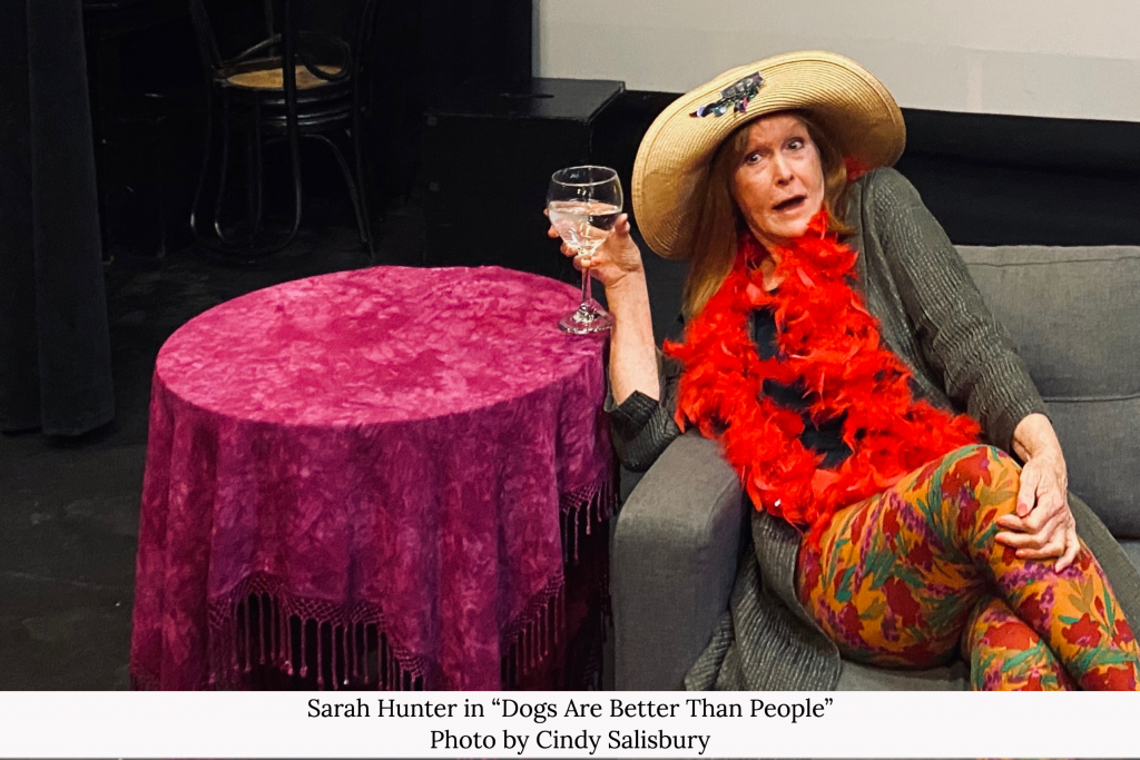 """Theater Reviews """"Dogs are Better Than People"""" Sarah Hunter"""