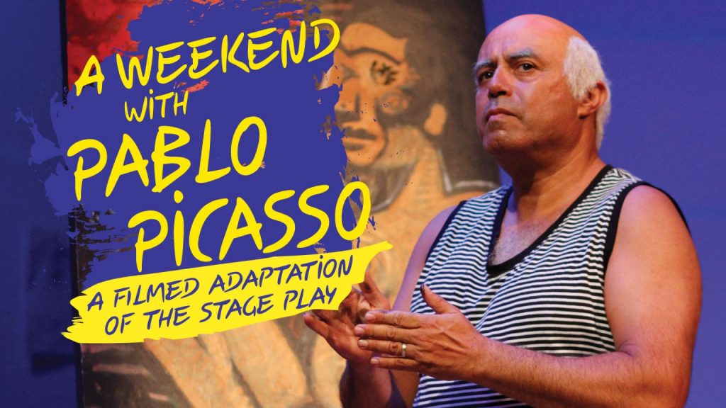 """NoHo theatre review of Herbert Siguenza's """"A Weekend with Pablo Picasso"""" at Caltech Live"""