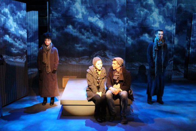 """REYKJAVÍK"" at the Road Theatre. Alaska Jackson, Jacqueline Misaye, Stephen Tyler Howell, Danny Lee Gomez."