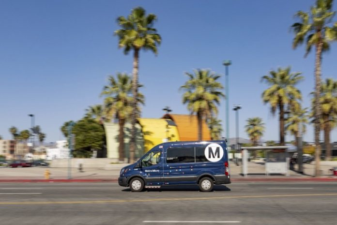 LA Metro's new rideshare service launched in the North Hollywood/Burbank community provides a transit alternative for just $1 per ride.