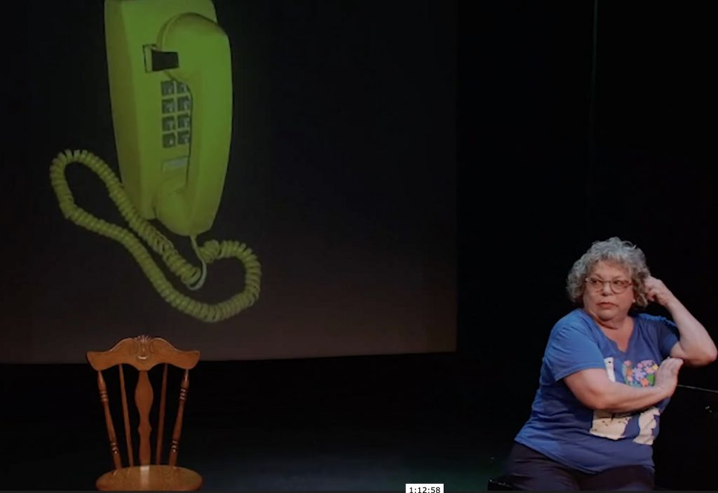 """Theater review of All The Adams in The World"""" at Whitefire Theatre Solofest"""