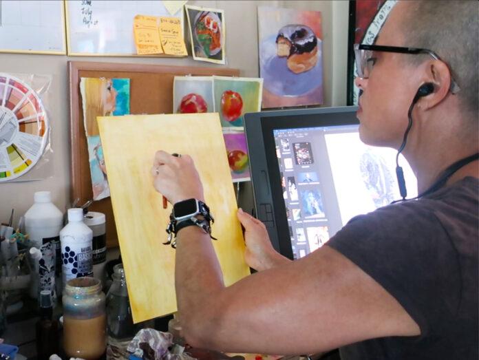 Frankie Smith, NoHo visual artist.
