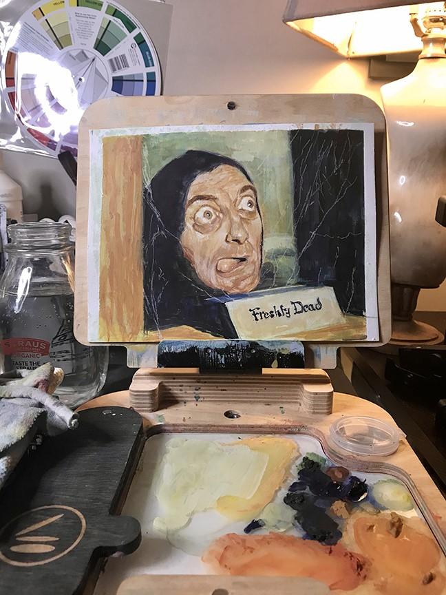 Meet Frankie, a NoHo Storyboard Artist