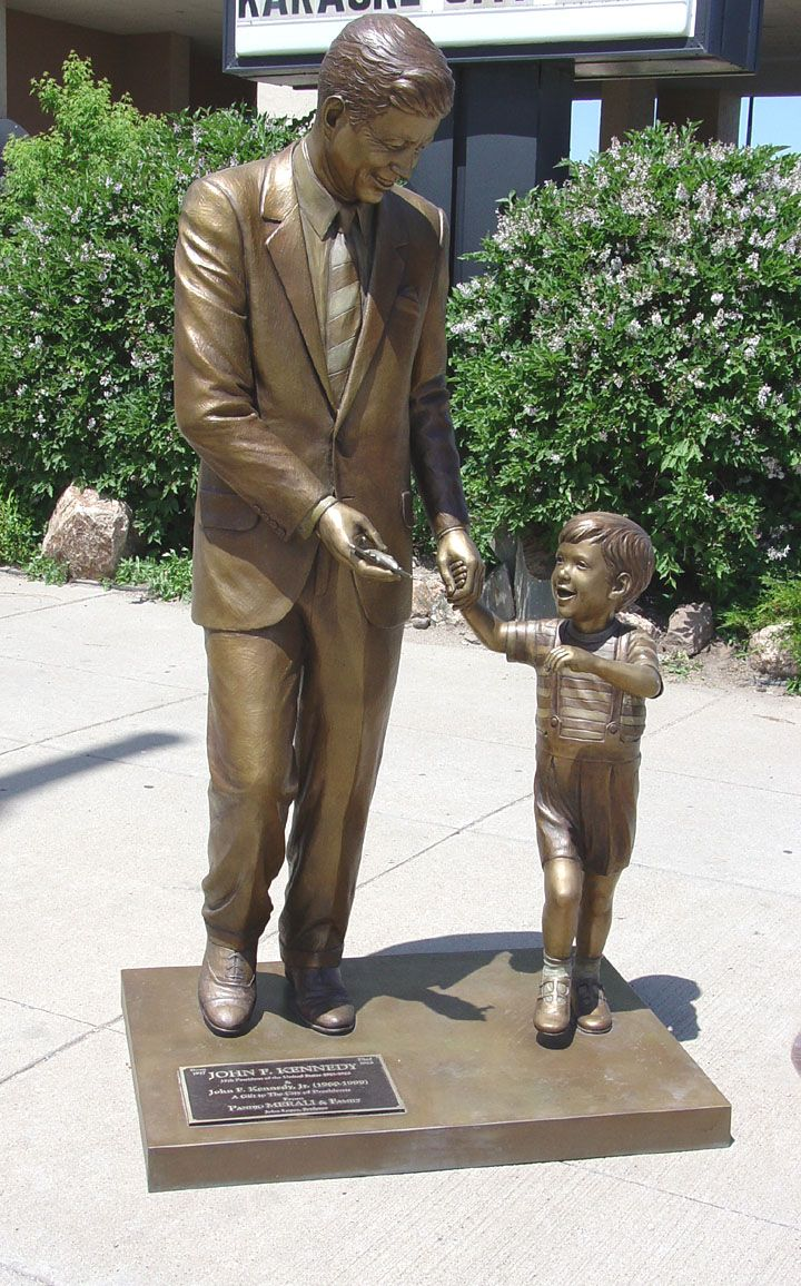 JFL Life-Size Presidential Statues