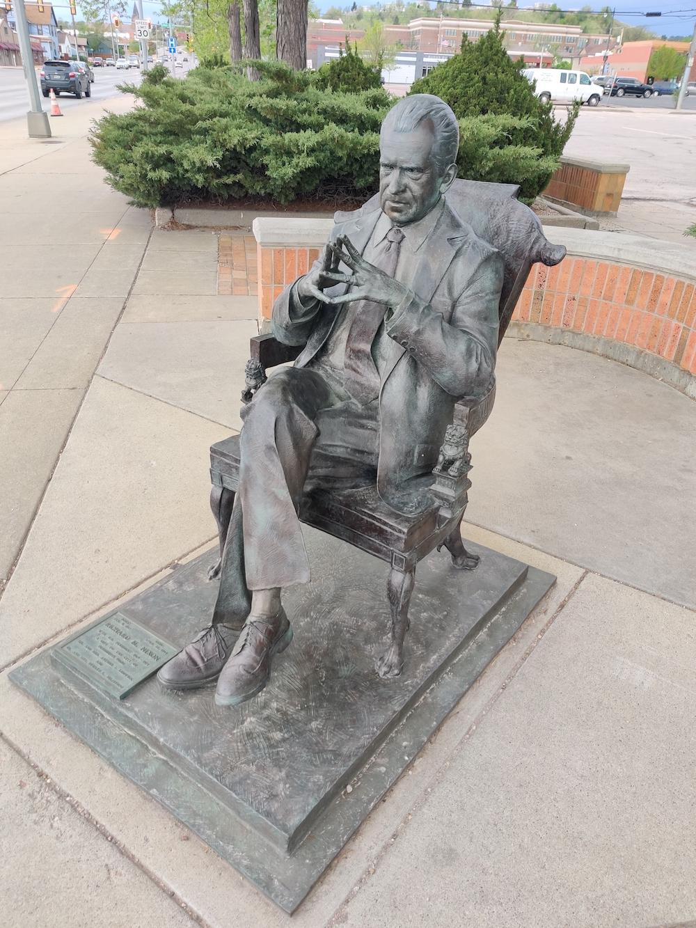 Nixon Life-Size Presidential Statues