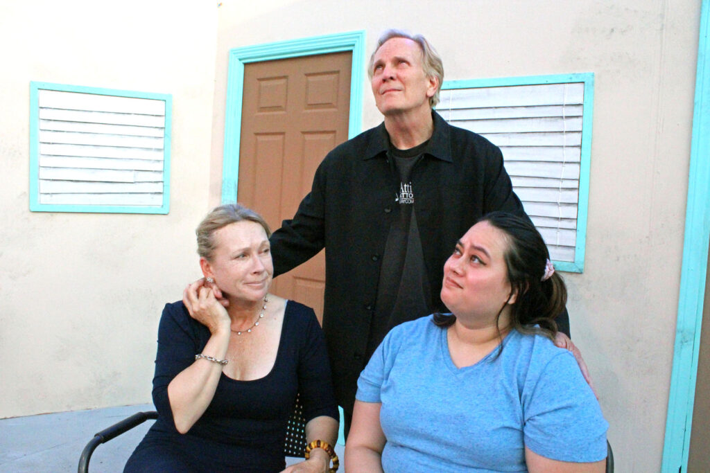 """Theater Review of the Group Rep's """"Motel 66"""" Go West night at The Yard, the outside theater at the Lonny Chapman Theatre."""
