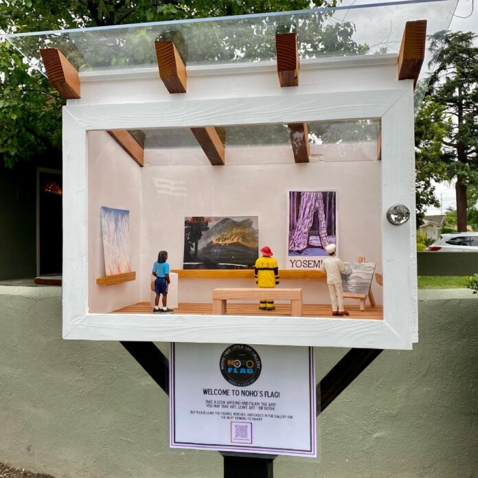 The Free Little Art Gallery NoHo.