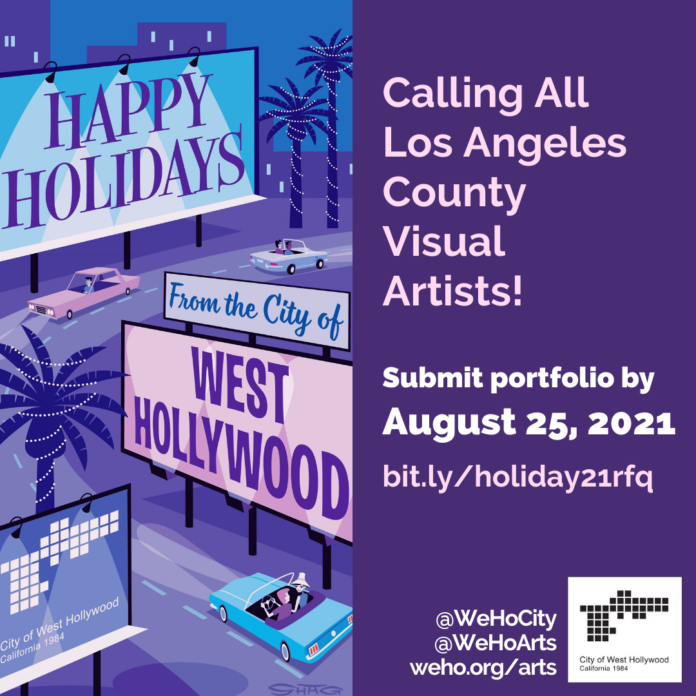 Call for Visual Artists for the City of West Hollywood