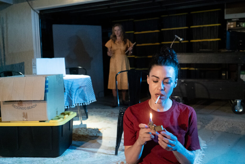 """A review of Ari Stidham's and Synthetic Unlimited's """"Mauritius,"""" written by Theresa Rebeck and directed by Ari Stidham."""