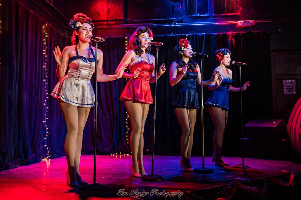 """The Satin Dollz """"Pin Up Revolution"""" at The Federal NoHo"""