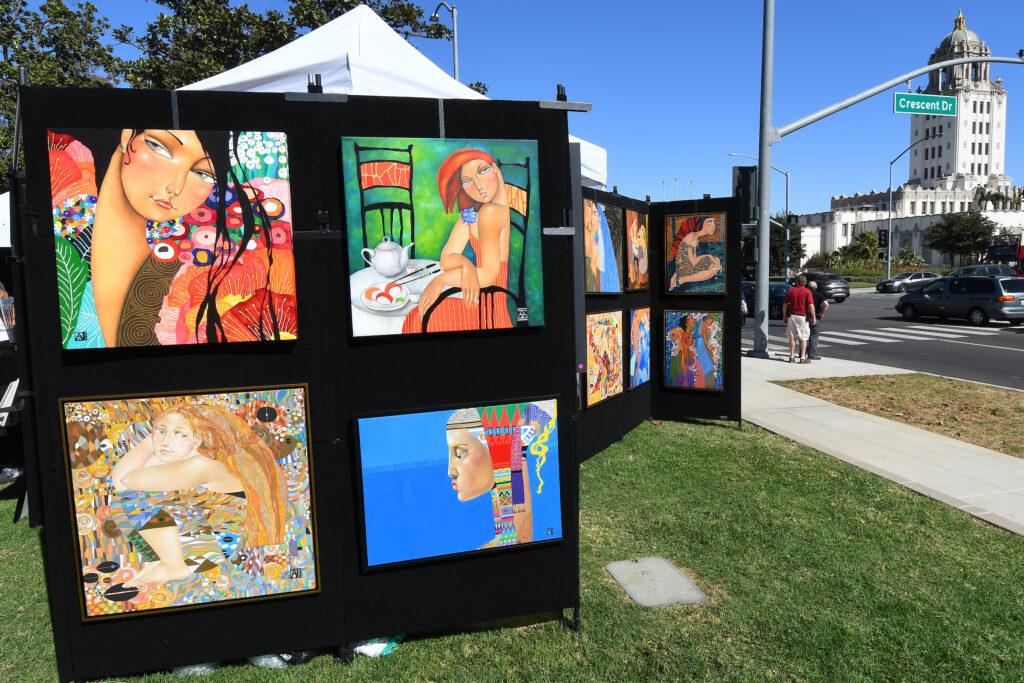 Beverly Hills Art Show Returns to Beverly Gardens Park