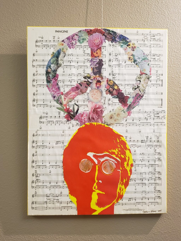 """Mind Frames"" exhibit by Caroline McElroy."