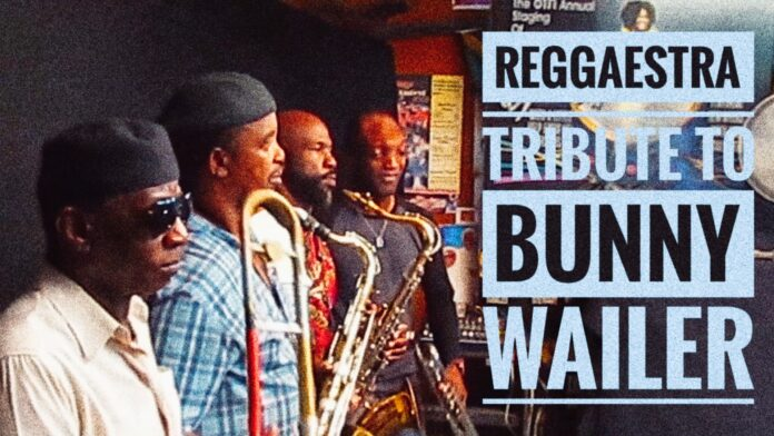 """A review ofThe Reggaestra """"Tribute to Bunny Walker"""" album produced by Grammy nominated producer Picstitch."""