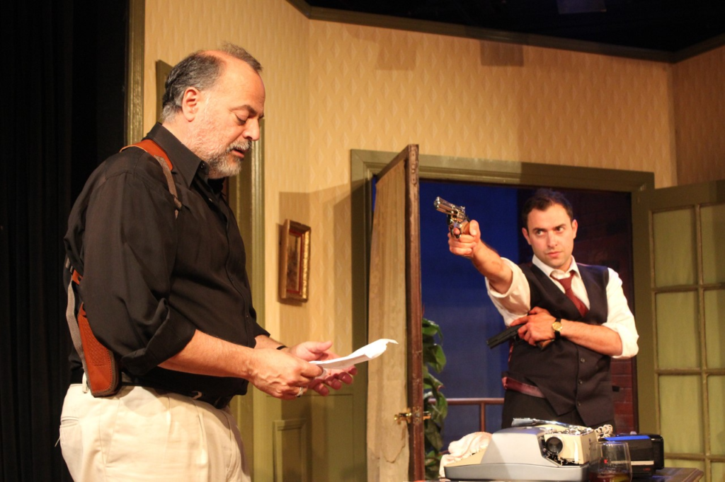 """""""Our Man in Santiago"""" at Theatre West."""