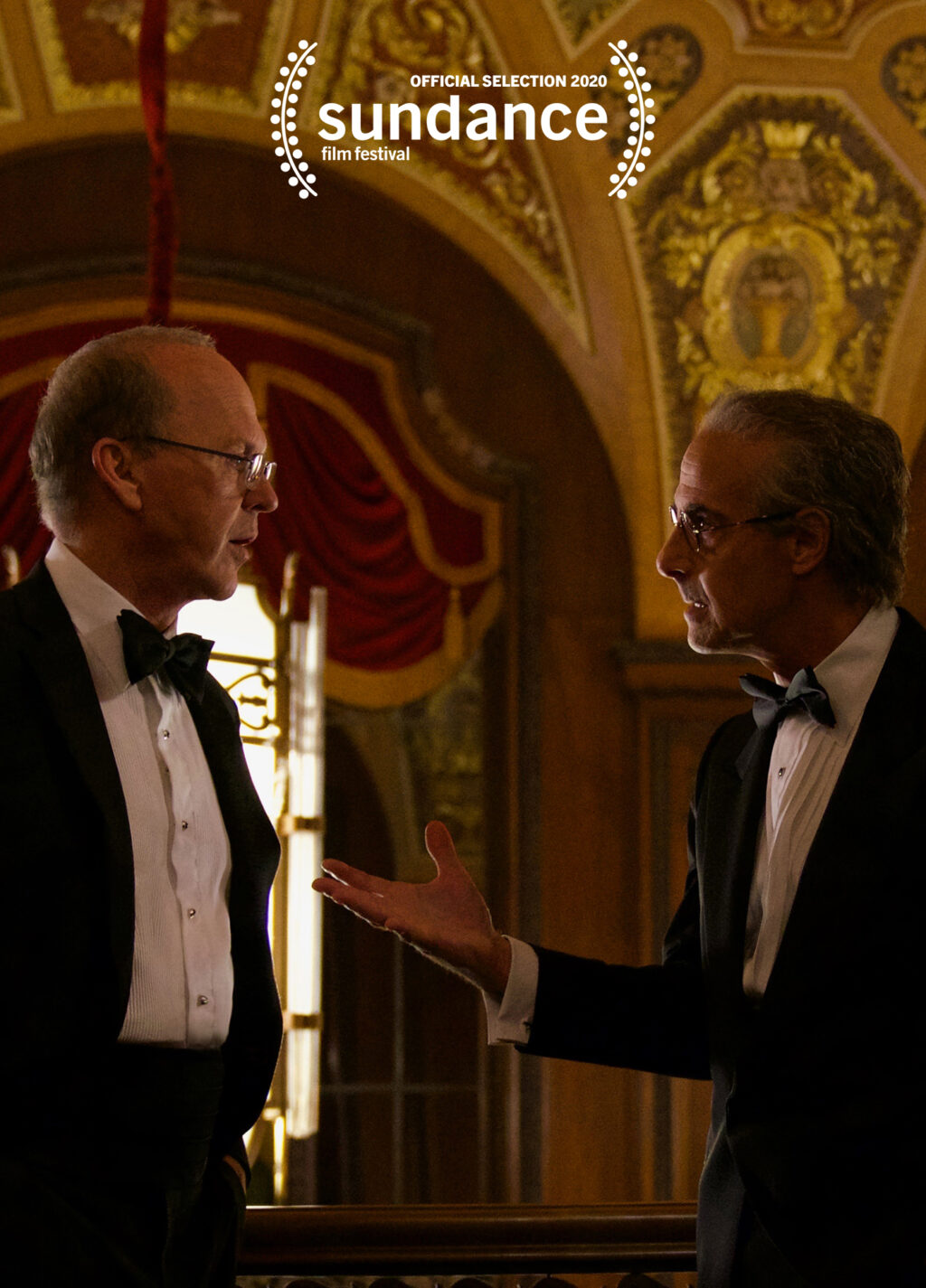 """Michael Keaton and Stanley Tucci in """"Worth"""" on Netflix."""