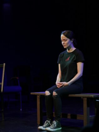 """""""REDEEMher – How I Screwed Up My Perfect Mormon Life"""" at the The BFF aka The BINGE Fringe Festival of Free Theatre on Tuesday, November 9 at 7:30pm"""