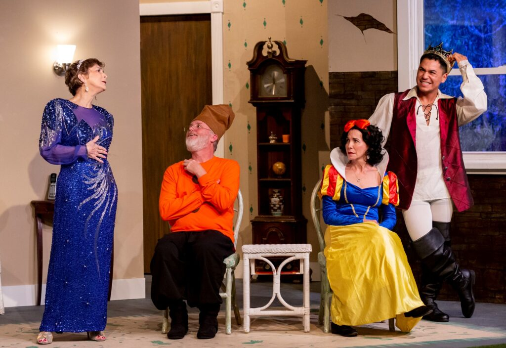 """A review of the Kentwood Players' """"Vanya and Sonia and Masha and Spike,"""" running through October 10."""