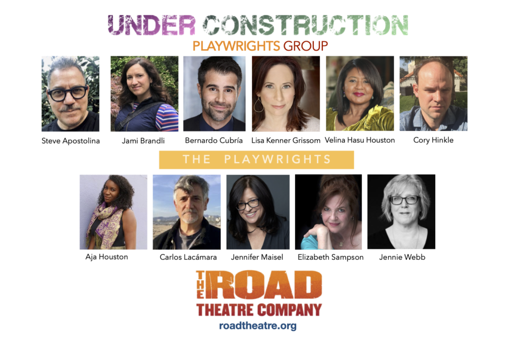 """The Road Theatre Company's Reopening with """"Under Construction 2,"""" in-person play reading series."""