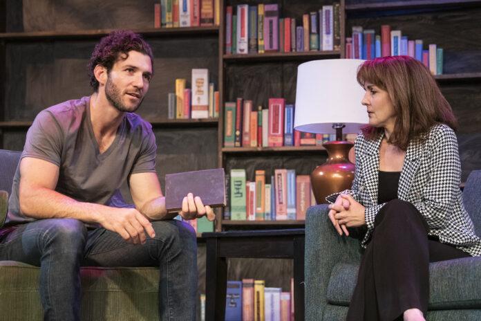 """Crimson Square Theatre Company's """"Sex With Strangers."""""""